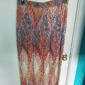 Lane Bryant maxi skirt size  14/16